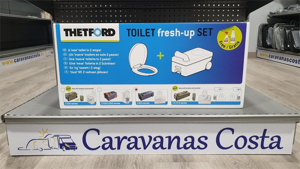 Foto 1 JUEGO TOILET  FRESH - UP SET C 400