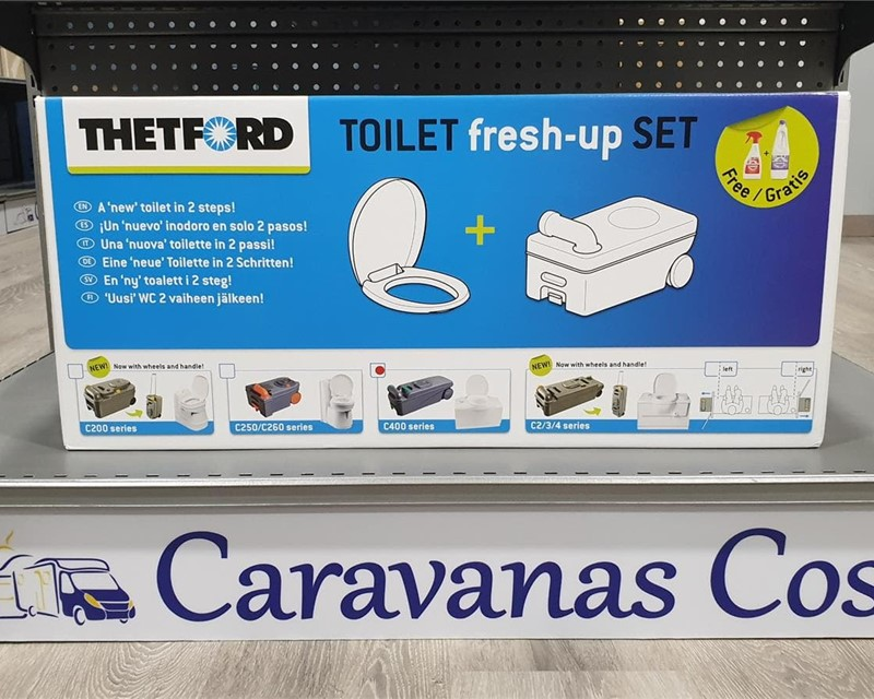 JUEGO TOILET  FRESH - UP SET C 400