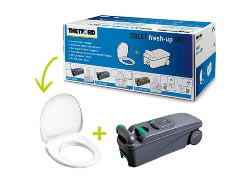 Foto 2 JUEGO TOILET  FRESH - UP SET C 400